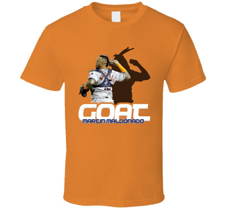 Martin Maldonado Baseball Fan Goat T Shirt