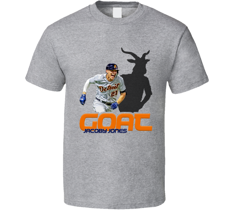 Jacoby Jones Baseball Fan Goat T Shirt