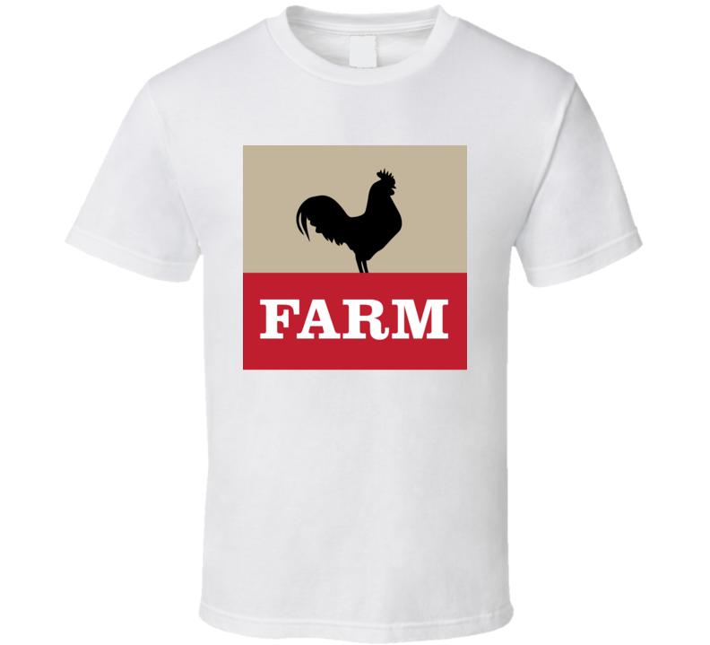 Farm Restaurant Logo Palm Springs T Shirt