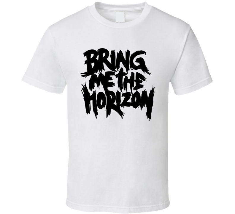 BMTH t shirt bring me music horizon hip hop