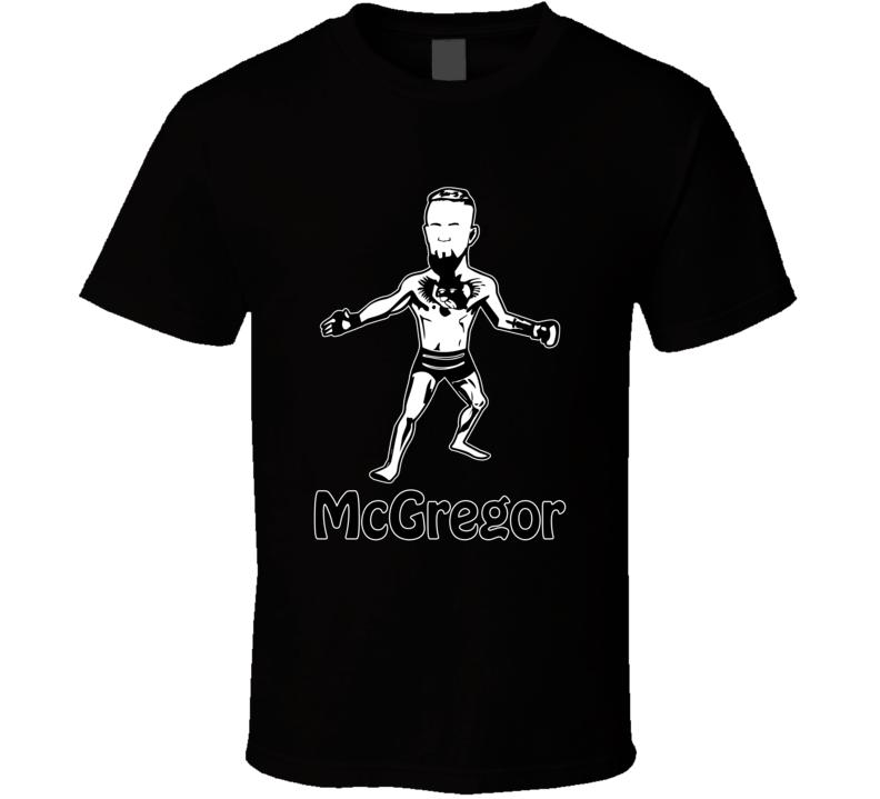 Conor Mcgregor T Shirt UFC MMA Irish Fighter Champion Notorious LA Top