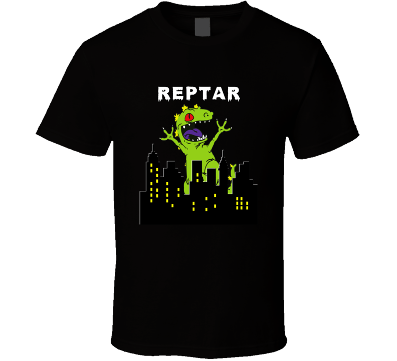 Reptar Mens Womens T-Shirt Funny Cotton Adult Tee Sizes S-2XL Unisex Rugrats Top