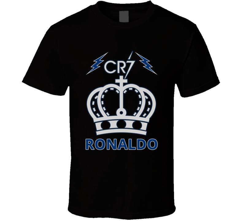 Real Madrid T Shirt Cristiano Ronaldo #7 Soccer Shirt Unisex Real Madrid C.F Top