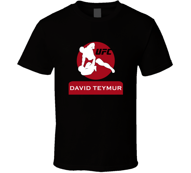 David Teymur MMA T Shirt Ultimate Fighting Championship UFC TUF Top