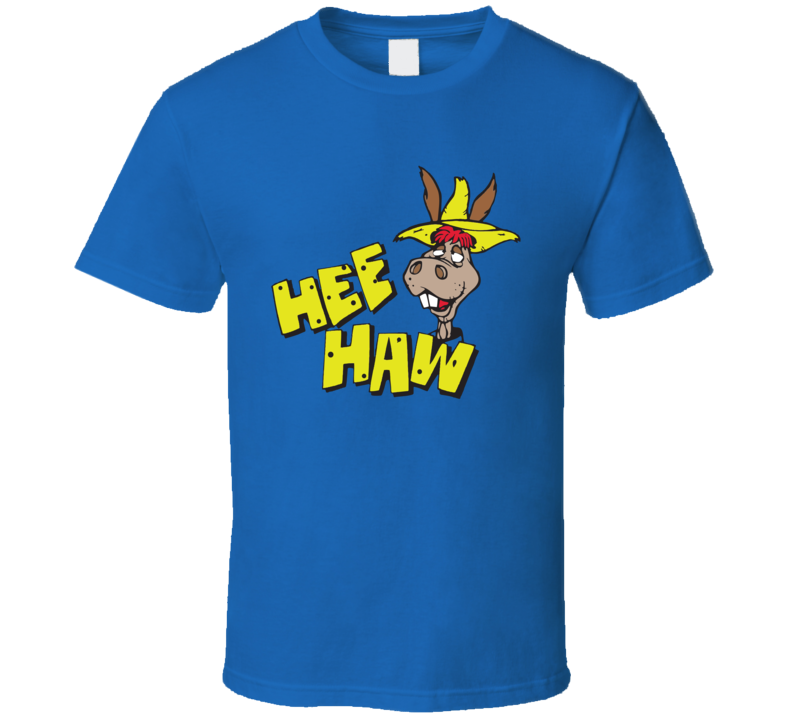 Hee Haw T Shirt donkey comedy retro tee