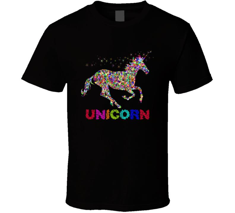 Unicorn Horse T Shirt Qilin Karkadann Shadhavar Re'em Indrik Camahueto