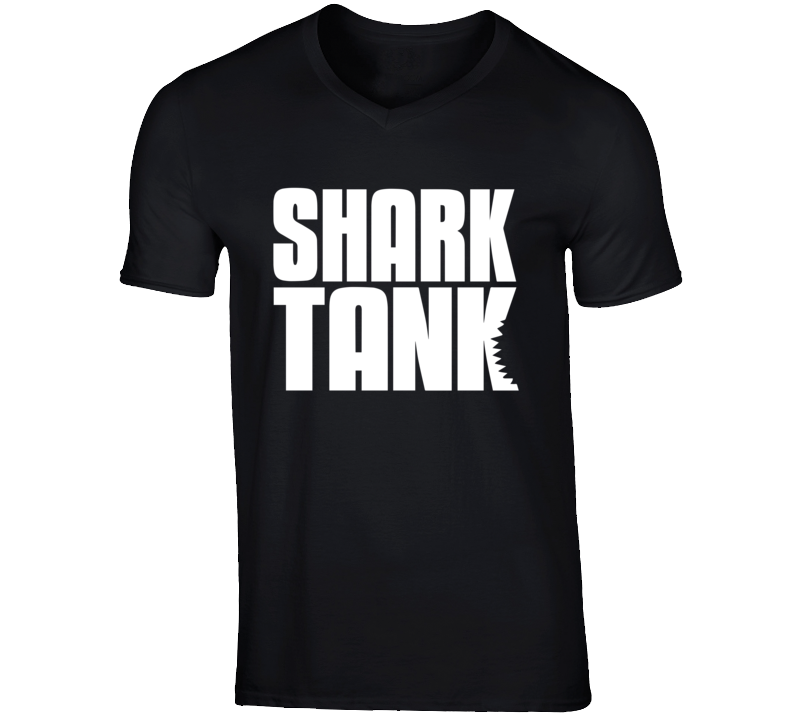Shark Tank T Shirt abc entrepreneur black men tee