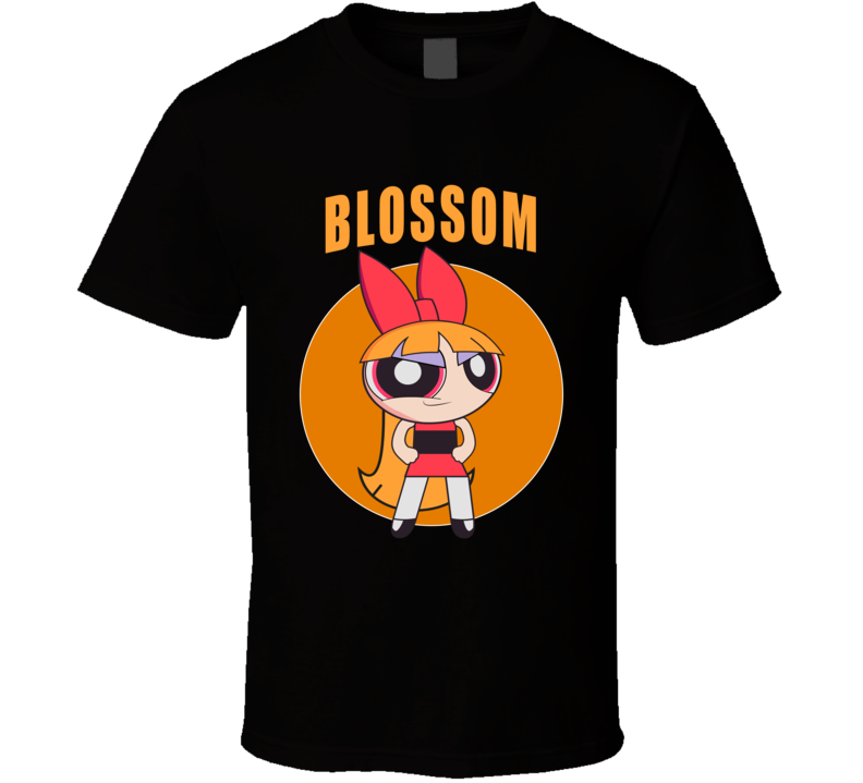 Blossom T Shirt Buttercup Rolling Bubbles the Powerpuff Girls