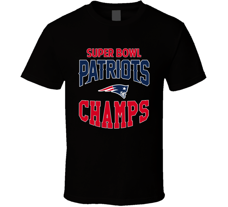 Super Bowl Champions Patriots T Shirt NFL xlix super bowl sunday