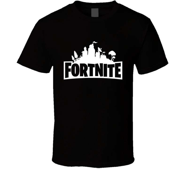 Fortnite T Shirt Battle Royale Survival game Save World power world tee