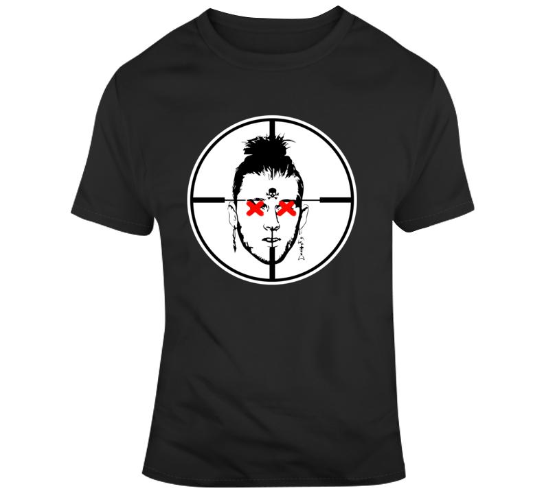 Kill Shot T Shirt rap music hip hop machine gun black tee