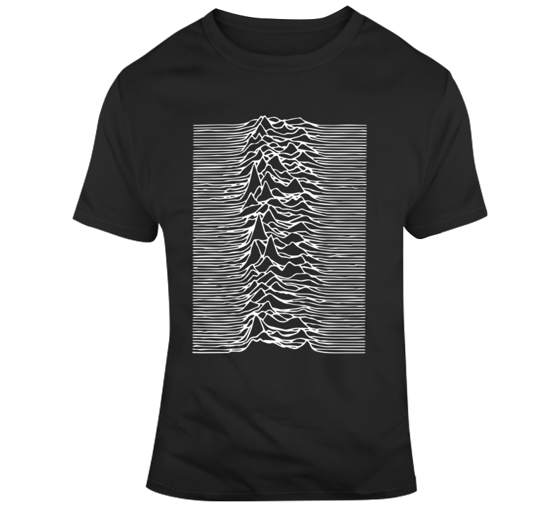 Unknown Pleasures by Joy Division T Shirt logo tee