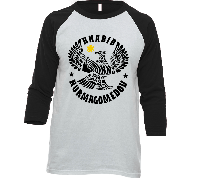 Khabib Eagle T Shirt Nurmagomedov russian ufc logo tee
