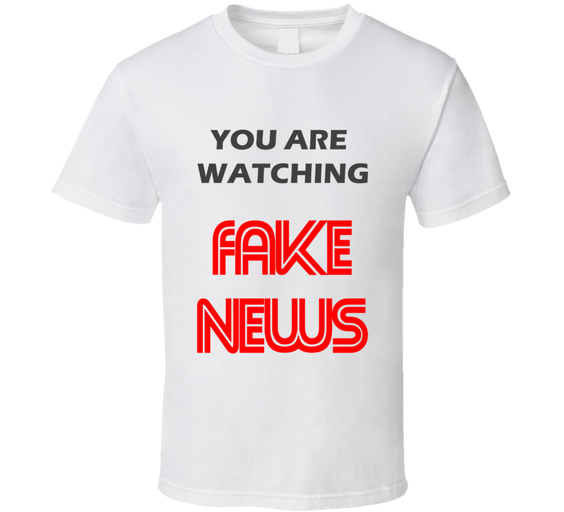 CNN Parody Donald Trump Funny Fake News 2017 Meme  T Shirt