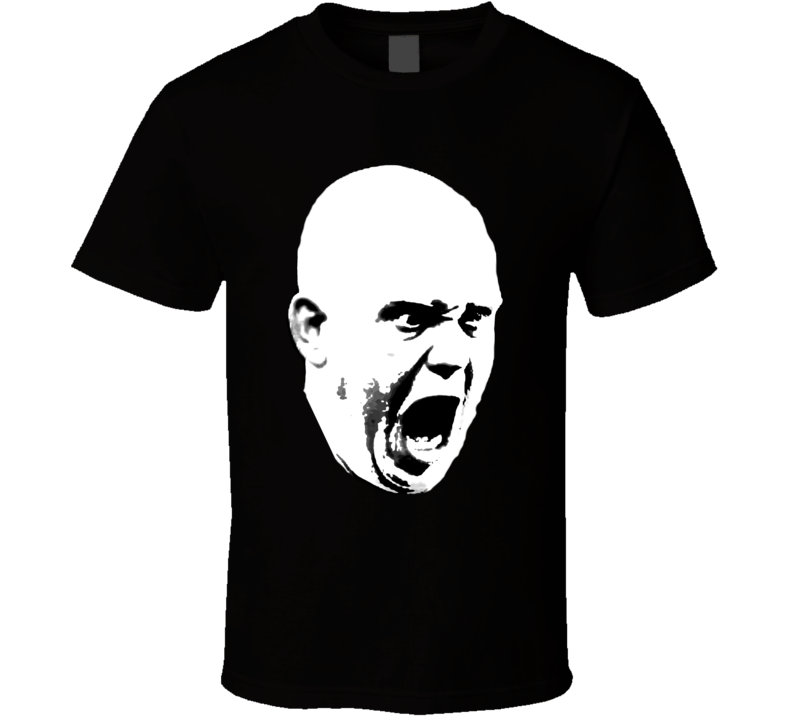 Michael Van Gerwen Premier League Darts Big Head Silhouette  T Shirt