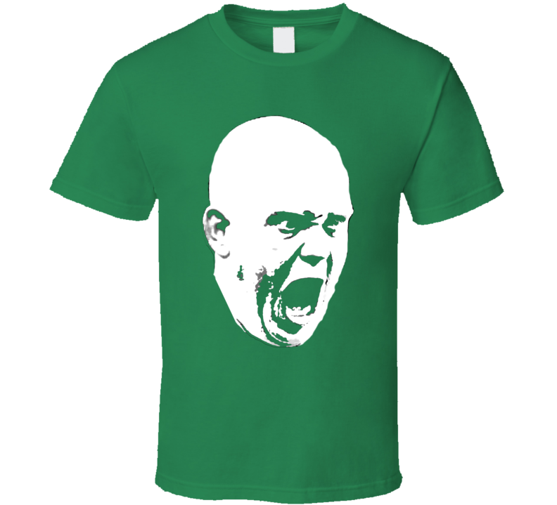 Michael Van Gerwen Premier League Darts Big Head Green T Shirt