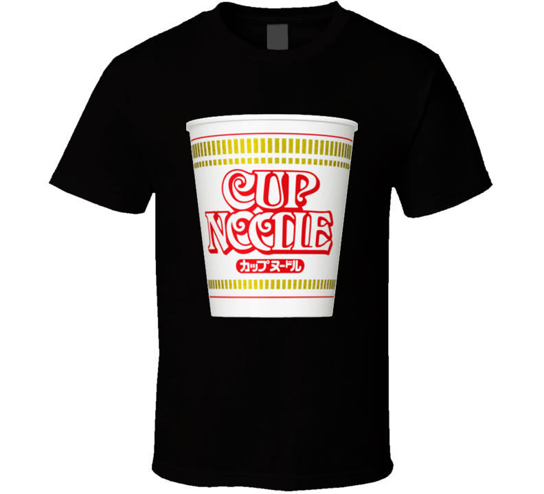 Cup of Noodles Food Cool Pop Culture eSports Cup  T Shirt