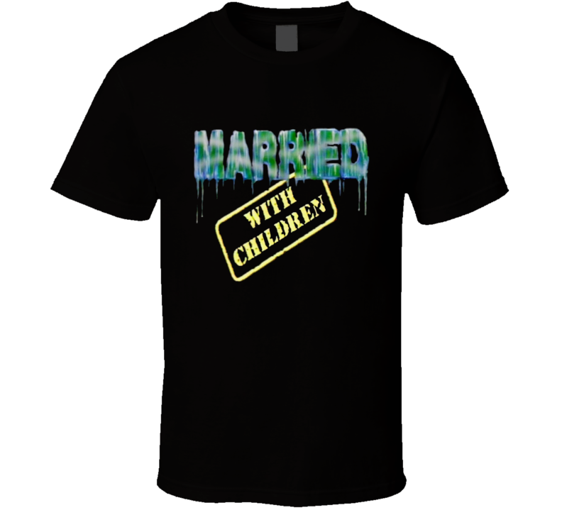 Married With Children Logo funny Retro Al Bundy TV Show T Shirt