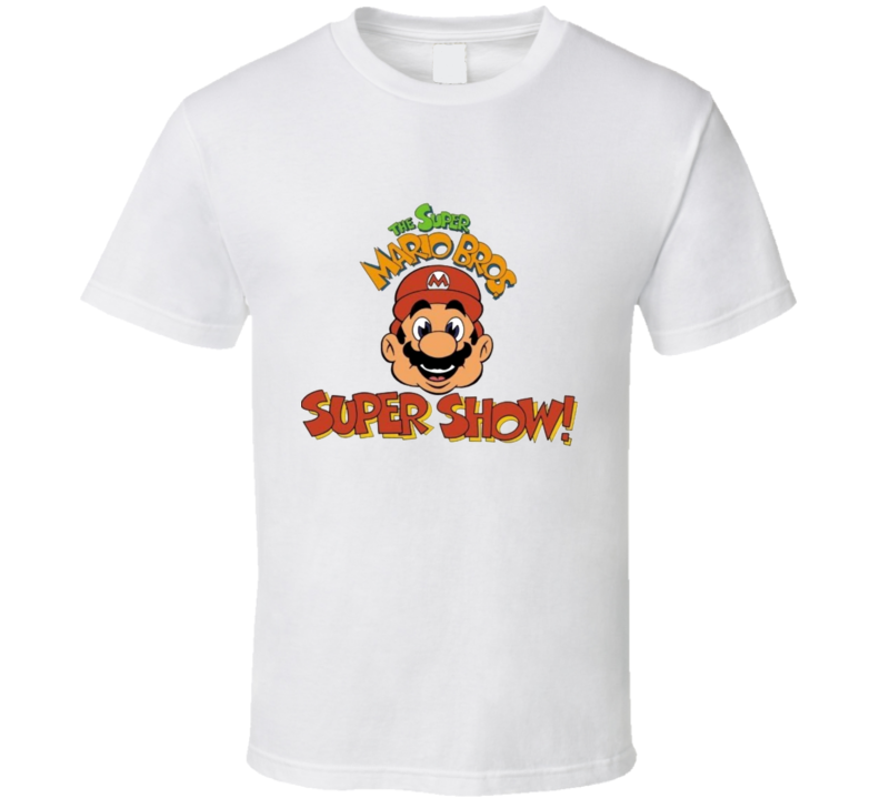 Cool The Super Mario Bros Super Show Logo T Shirt