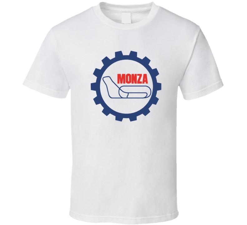 Cool Monza Circuit Logo Car Racing  T Shirt
