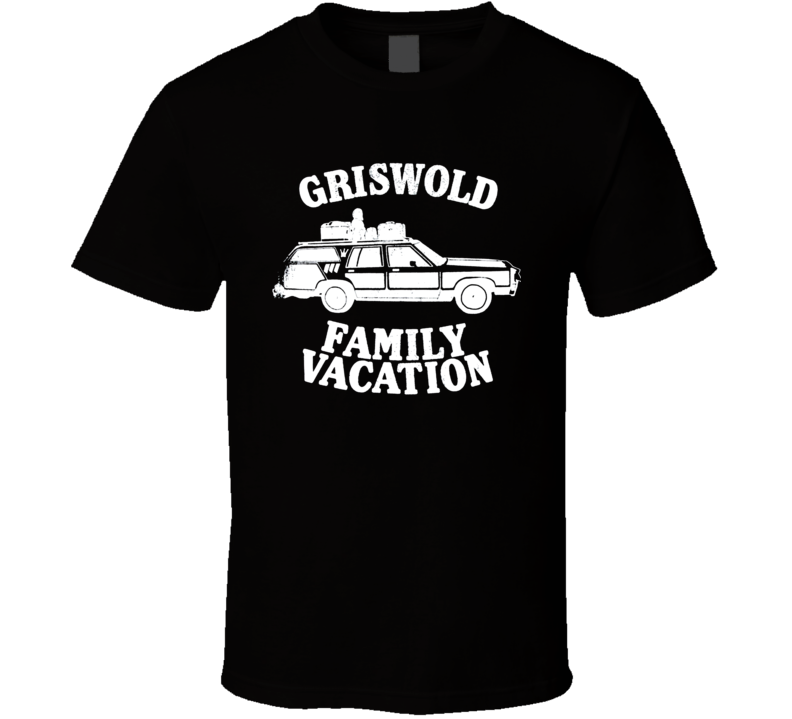 Cool National Lampoons Vaction Griswold Family Vacation T Shirt