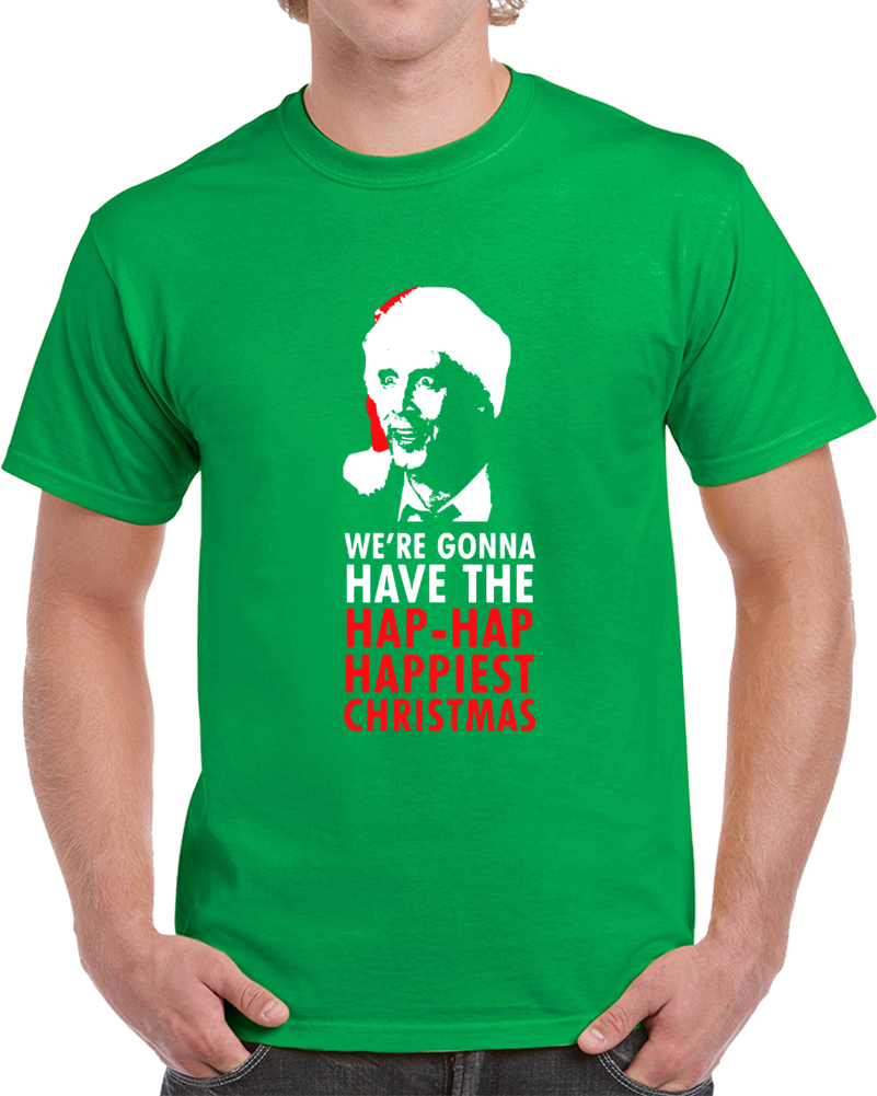 Cool National Lampoon's Christmas Vacation Clark Griswold We're Gonna Have a Happy Christmas T Shirt