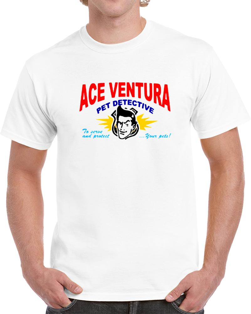 Ace Ventura Business Card Funny Movie T Shirt