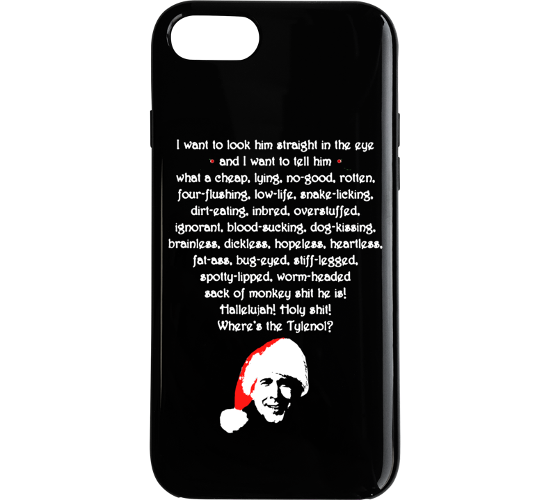 cool national lampoons christmas vacation clark rant phone case