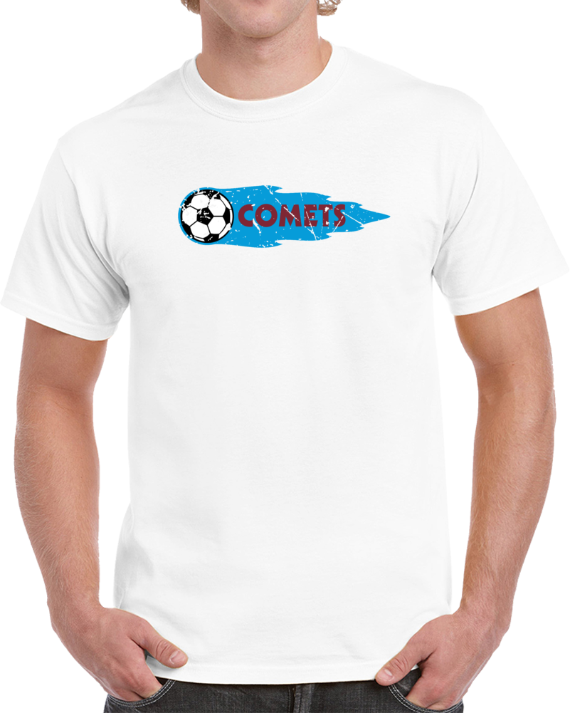Retro Baltimore Comets North American Soccer League NASL Distressed V2 T Shirt