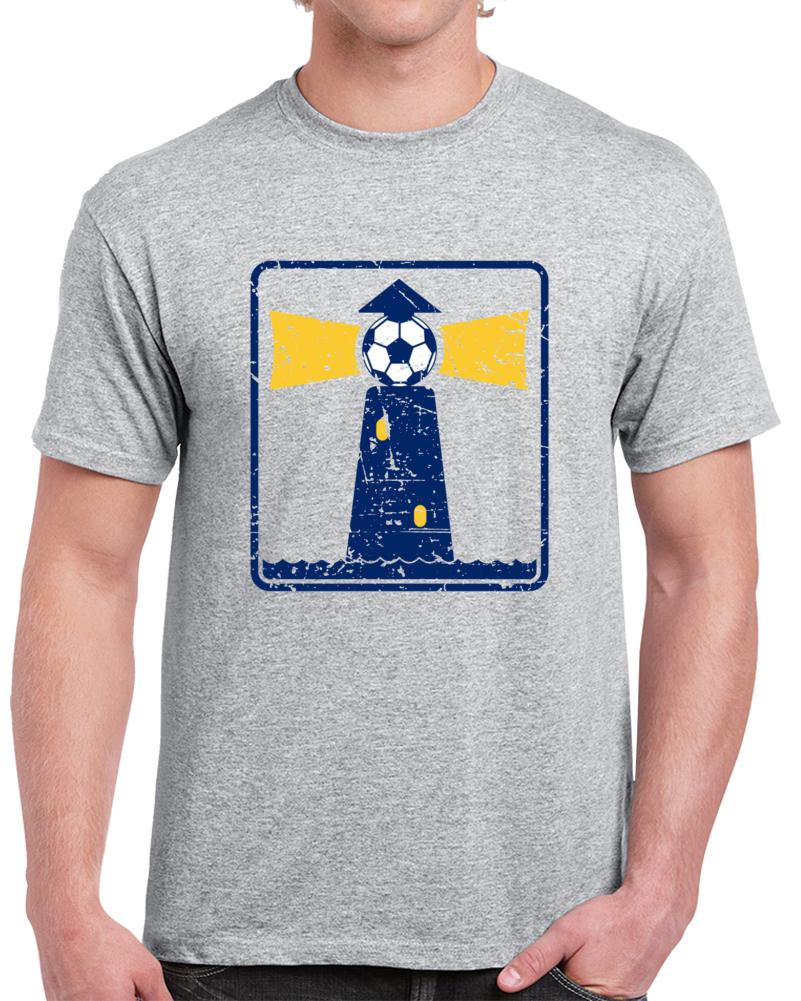 Retro Boston Beacons North American Soccer League NASL V2 T Shirt