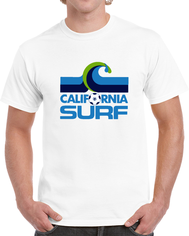 Retro California Surf North American Soccer League NASL T Shirt
