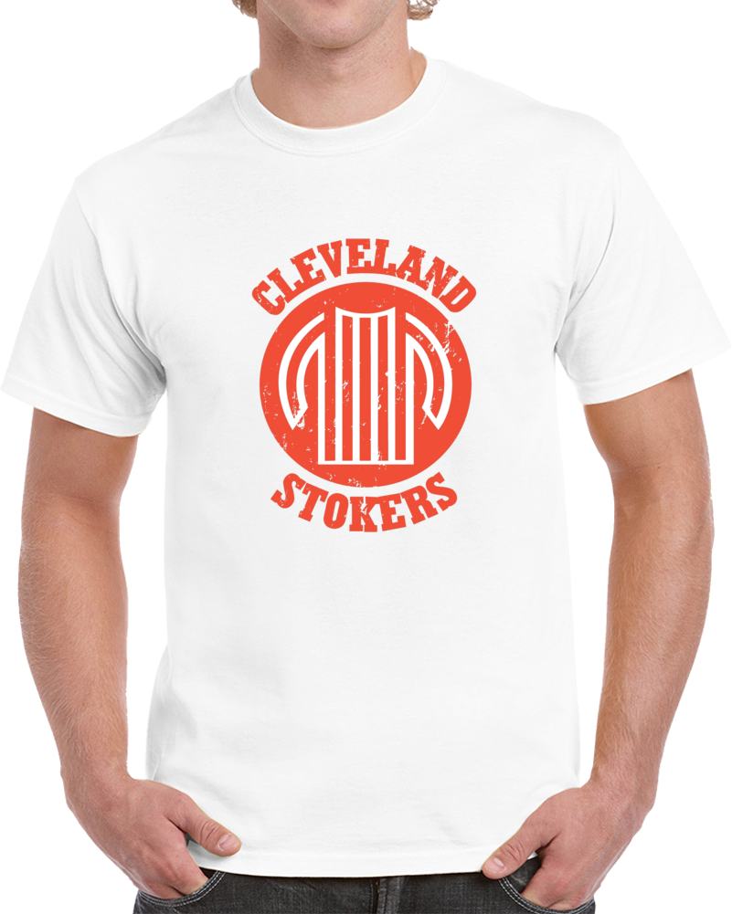 Retro Cleveland Stokers North American Soccer League NASL Distressed T Shirt