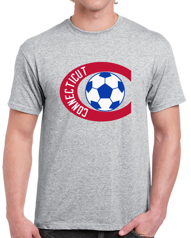 Retro Connecticut Bicentennials North American Soccer League NASL  T Shirt