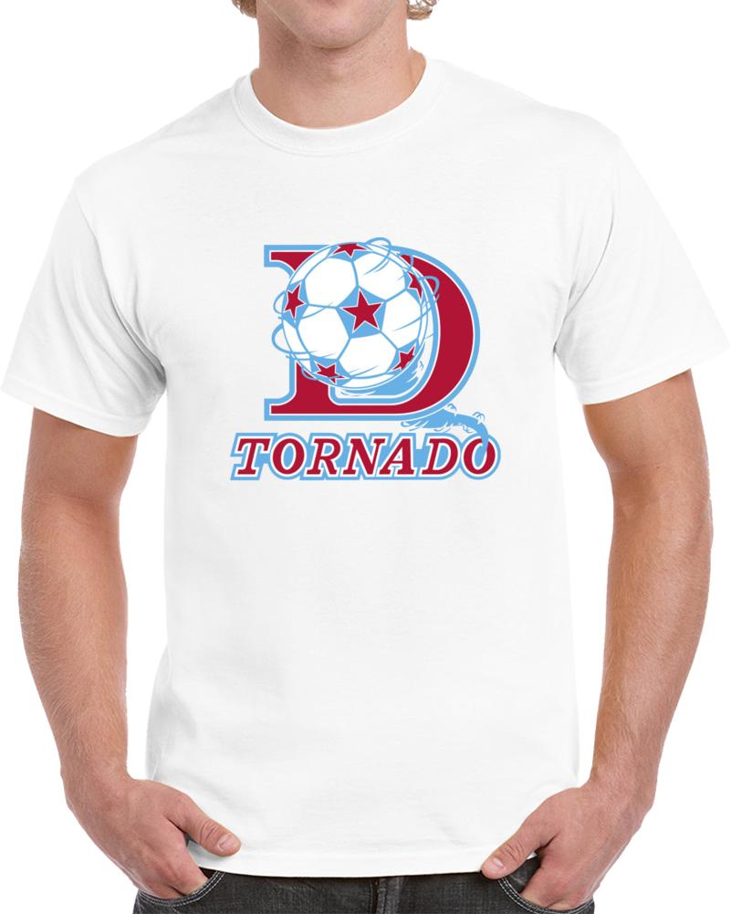 Retro Dallas Tornado North American Soccer League NASL V2 T Shirt