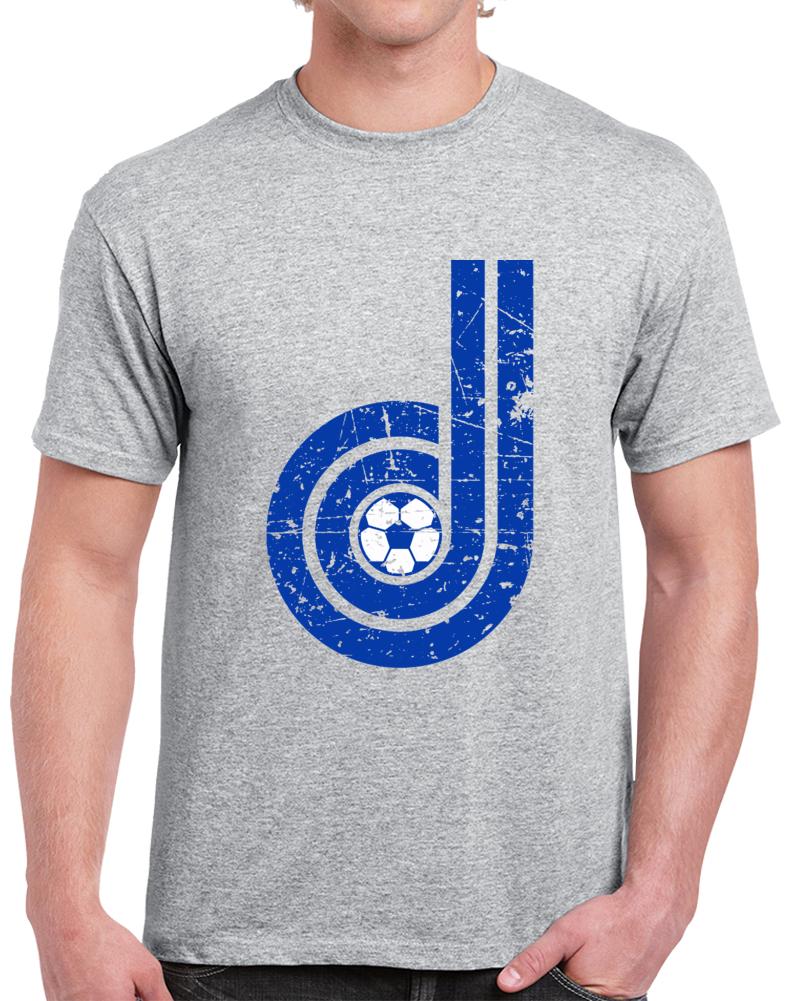 Retro Denver Dynamos North American Soccer League NASL Distressed T Shirt