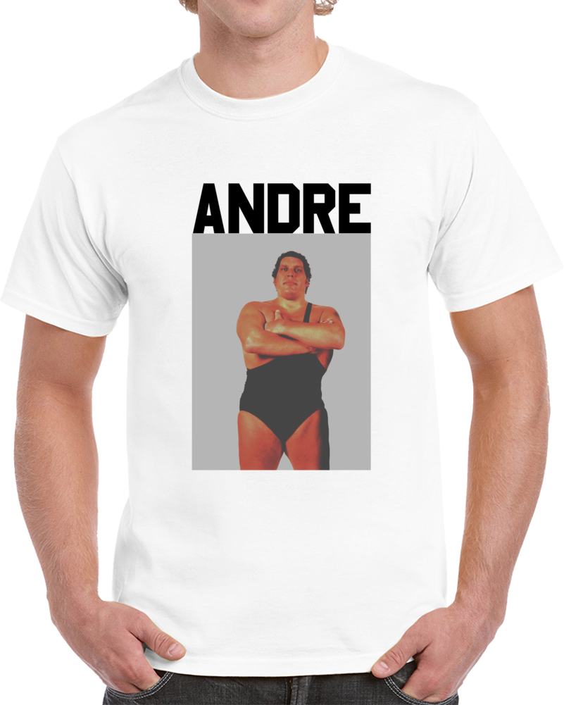 Wrestling Legend Andre The Giant Cool Wrestling Fan  T Shirt