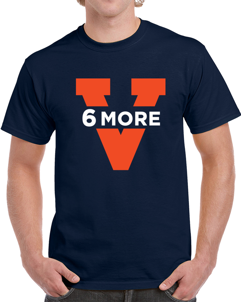 UVA University of Virginia College Basketball 6 More Wins March Madness T Shirt