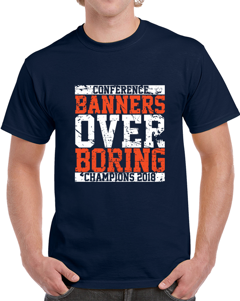 UVA University of Virginia College Basketball Banners over Boring Distressed V3 T Shirt