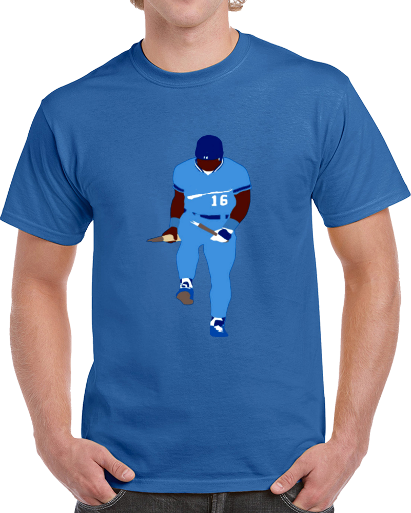Bo Jackson Caricature Baseball  T Shirt
