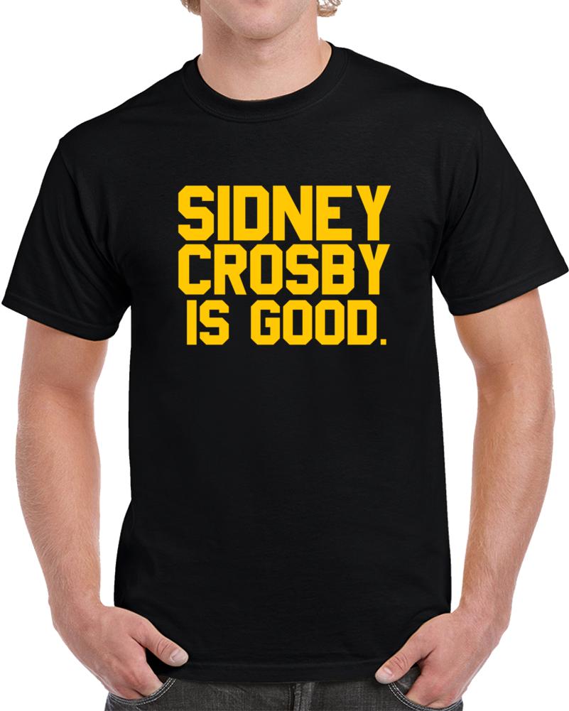 Pittsburgh Hockey Team Sidney Crosby is Good Hockey Fan  T Shirt
