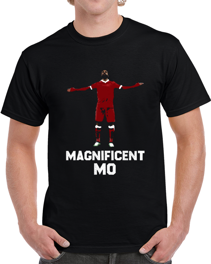 Liverpool Soccer Team Mo Salah Magnificent Mo Liverpool  Soccer Fan T Shirt