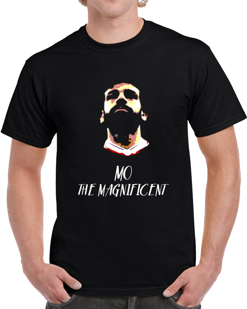 Liverpool Soccer Team Mo Salah Mo The  Magnificent Liverpool  Soccer Fan V2 T Shirt