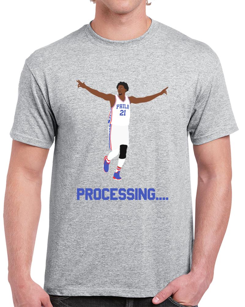 Philadelphia Basketball Trust The Process Processing Philadelphia Basketball Fan T Shirt