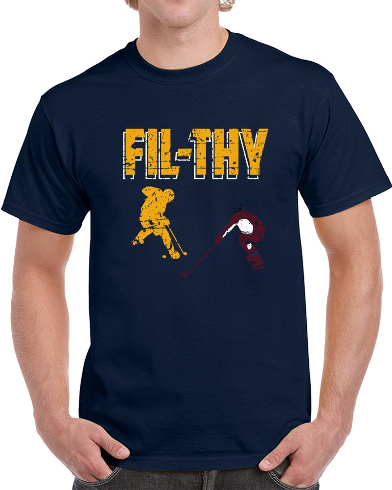 Nashville Hockey Team Filthy Filip Forsberg Silhouette Nashville Hockey Fan T Shirt