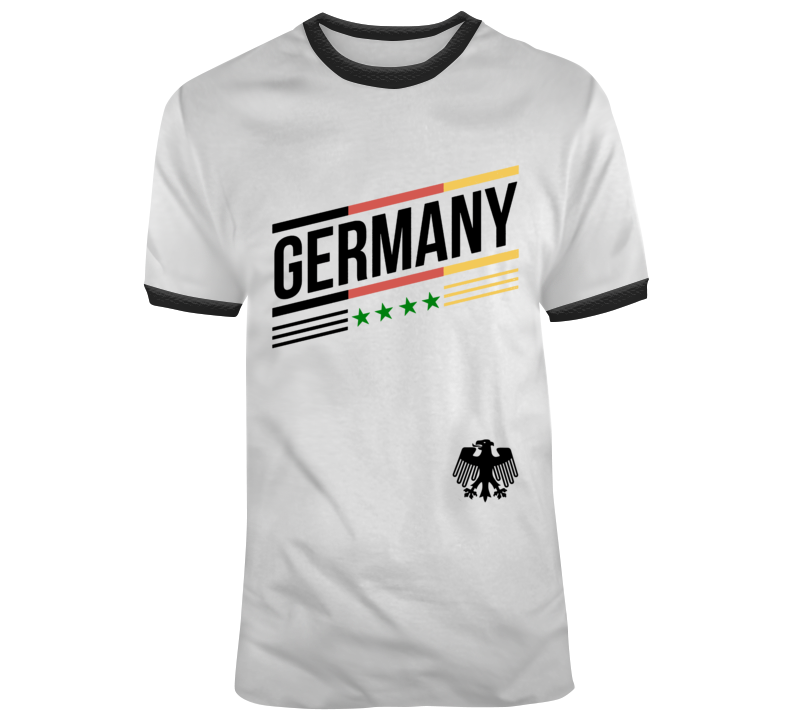 World Cup Russia 2018 Germany German Soccer Team T Shirt