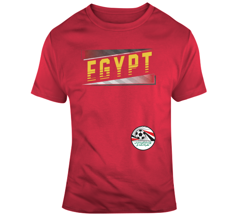 World Cup Russia 2018  Egypt Soccer Team T Shirt