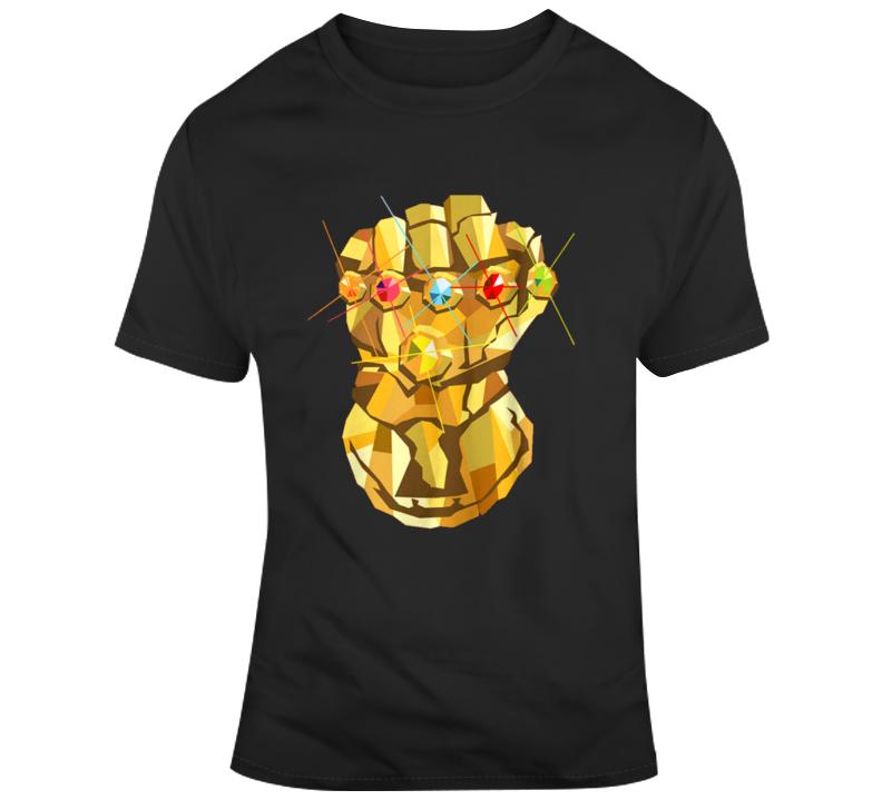 Thanos infinity gauntlet Avengers Comic book fan  T Shirt