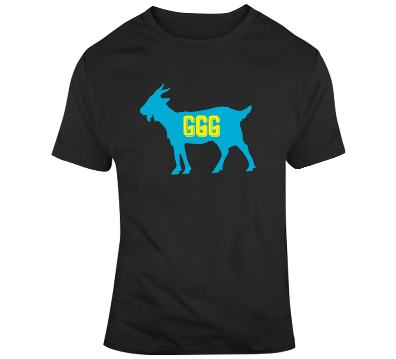 Gennady Golovkin World Champion Boxer GGG Boxing Fan Goat  T Shirt