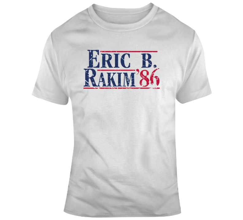 Old School Hip Hop Eric B and Rakim 1986 Cool  T Shirt