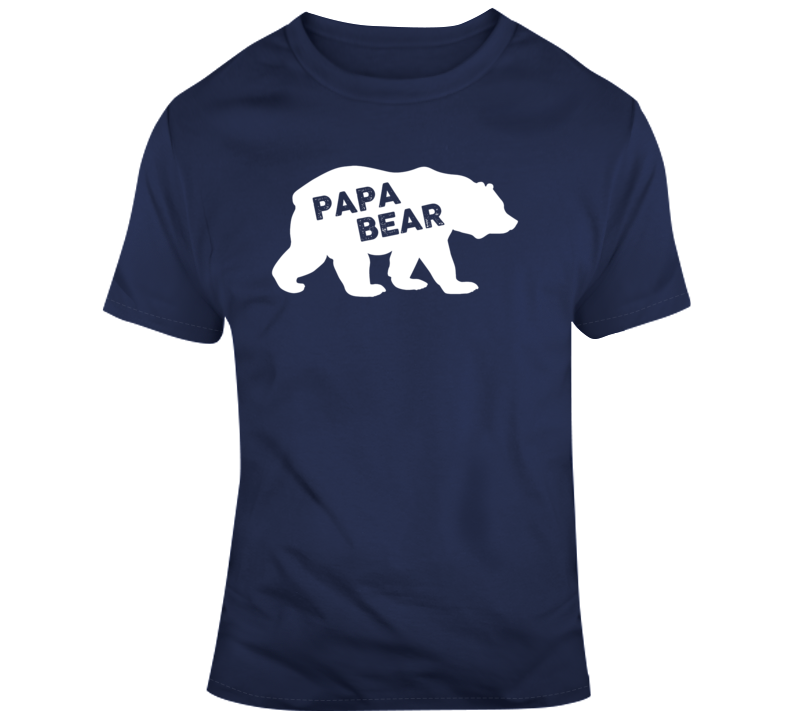 Father's Day Papa Bear Dad Gift T Shirt